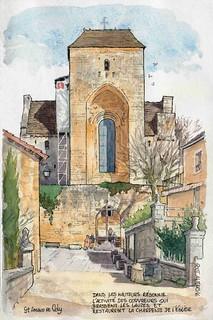 St Amand de Coly , église