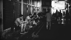 _DSC8902-wm (patlawhl) Tags: blackandwhite monochrome relax chinatown streetphotography backlane 5014 filmlook sonyalpha mirrorless canonfdlens patlaw sonya7r