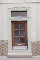 Portal at Hauptstrae 121 in Zell am Main (Bjrn S...) Tags: bayern bavaria franconia portal franken zell baviera franconie bavire hauptstrase zellammain zellamain hauptstrase121