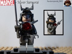 Silver Samurai (Random_Panda) Tags: comics book comic lego fig character books super hero figure superhero characters heroes minifig minifigs superheroes marvel figures figs minifigure minifigures