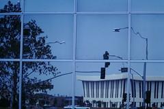 5-17-1975--Sherman Gardens Architecture- Corona Del Mar (2) (foundslides) Tags: pictures california ca usa reflection architecture del vintage mar photo photos kodak pic slidefilm retro corona 1975 kodachrome southerncalifornia 1970s foundslides coronadelmar midcentury kodachorme irmalouiserudd