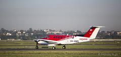 Air Ambulance VH-AMS (Tony Hugo) Tags: tarmac king air au flight australia mascot newsouthwales nurse beechcraft paramedic runway kingair airambulance flightnurse nswa vhams asnsw