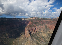 Grand Canyon view from a helicopter 6 (Monceau) Tags: landscape ride grandcanyon helicopter vista lookingdown grandcanyonnationalpark