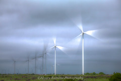 The power of the wind... (Al_Ram) Tags: windmills hdr wid canon70200mm naturalenergy canon5dmarkii energiadeviento
