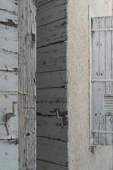 20160423 Provence, France 02598 (R H Kamen) Tags: france window architecture shutters weathered bliue buildingexterior provencealpesctedazur rhkamen woodmaterial