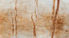 Three (jonnydredge) Tags: art rust natural stripes cotton textiles eco shibori markmaking onionskins spottedhyenas