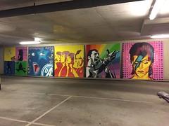 graffiti streetart popstars (Surfing 4 Art) Tags: streetart david graffiti bowie mural mercury freddy abba popstars davidbowie freddym