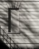 ** (donvucl) Tags: blackandwhite bw lines wall composition shadows railing semiabstract donvucl olympusem1