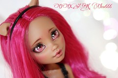 PicsArt_04-09-06.55.20 (Cleo6666) Tags: monster high wolf doll ooak custom mattel repaint howleen monsterhigh