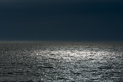 Light on the sea (Jan van der Wolf) Tags: light sea seascape storm abstract weather clouds dark licht seaside thunderstorm thunder orage bui donker onweer onweersbui map143491v
