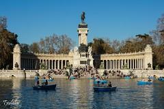 Madrid - El Retiro (Txulalai) Tags: madrid travel primavera arquitectura agua sony urbana elretiro sonyalpha6000 sonya6000 sonyilce6000