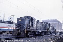 226New Haven, CT, 10-1984 (Rkap10) Tags: railroad other connecticut places amtrak albums locomotives rs23 railroadslidescans