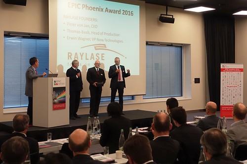 EPIC Phoenix Award RAYLASE 2016