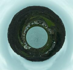 Planeta Eugi (esparsa10) Tags: world art photoshop landscape nikon creative paisaje conceptual amateur mundo imaginative navarra planeta nafarroa tinyplanet d3200 eugi