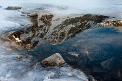 Spisske pleso in winter (Juro Kovacik) Tags: blue winter sky mountain lake snow reflection water landscape sunny slovakia peaks tarn mala tatry tatras studena malastudenadolina