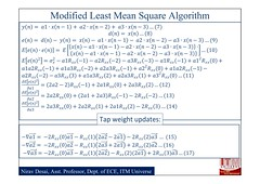 Active Noise Cancellation by the modified filtered x-LMS algorithm with online secondary path modelling PPT file_03 (DrJohnBullas) Tags: by path online modified secondary noise modelling algorithm active cancellation filtered xlms