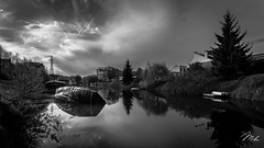 Canal de l'Ourthe (MHPhotography91) Tags: street canon river boat canal along meuse lige 6d ourthe mhphotography
