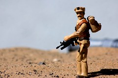 Special Mission Brazil: Leatherneck (R.T.G.) Tags: gijoe marine custom leatherneck