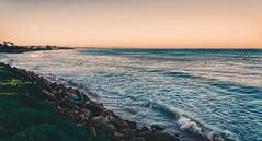 Take it easy (FlavioSarescia) Tags: ocean travel blue sea sky beach nature water landscape southafrica coast sand rocks surf surfer sony surfing