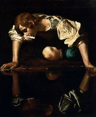 - Narcissus (The K Series) Tags: italy rome art painting arte d antica renaissance caravaggio galleria narcissus nazionale   thekseries