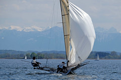 _DSF3781 (Frank Reger) Tags: bayern regatta skiff segeln segelboot 18ftammersee
