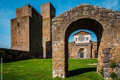 07042016-XT102207 (http://walkingphoto.altervista.org/) Tags: italy towers tuscany sanpietro tuscania torri sanpietrotuscania