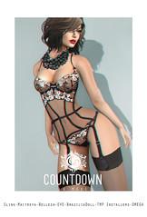 Donna Lingerie (AntoniaXp *CD* Countdown) Tags: life eve hot sexy donna mesh cd lingerie sl secondlife second countdown bodies belleza tmp maitreya slink antoniaxp braziliadoll