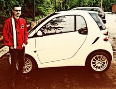 my good friend the car (gaypunk) Tags: smart car friend automobile wheels buddy pal smartcar fortwo citycar