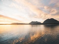 Tofino Twilight (nicholasdyee) Tags: sunset canada nature water reflections landscape island bc northwest britishcolumbia vancouverisland tofino
