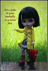 Let a smile (-Bien-) Tags: rain blythe pomme mimedolls