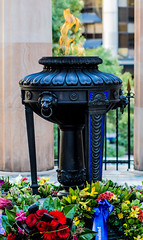 Eternal Flame of Remembrance, ANZAC Square, Brisbane (adamhanley751) Tags: australia brisbane flame queensland anzac eternal