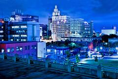 Downtown San Antonio, Texas, U.S.A. (Lago Tanganyika) Tags: city longexposure urban usa rooftop skyline sanantonio skyscraper cosmopolitan downtown cityscape texas realestate metro citylights metropolis metropolitan centralbusinessdistrict lonestarstate jorgemolina nikond7100