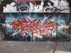 Demo graffiti, Southbank (duncan) Tags: demo graffiti southbank lsdemo