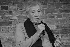 Sir Ian McKellen x Apple Store (II) (lovellpatrick754) Tags: applestore xmen gandalf magneto filmactor ianmckellen shakespeareanactor shuremicrophone britishactor sirianmurraymckellen heuristicshakespeare