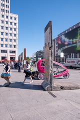 116 365+1 2016 Walking through the Berlin Wall 2015, Potsdamer Platz, Berlin, Germany (Kris McNeil) Tags: west berlin june wall germany platz potsdamer east 365 2015 366 3651
