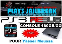 Yasser Moussa (play3jailbreak) Tags: slim belgique relay 478 dex commander yasser play3 mondial jailbreak manette ps3 moussa achat 160gb envoi acheter rebug