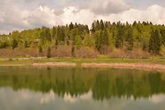 specchio (giovannafilotto) Tags: montagne lago nikon italia campo trento calma paesaggio riflesso folgaria allaperto nikond lavarone trentinoaltoadige lagodilavarone nikond5200