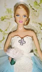 2016 Oscar de la Renta Bride Barbie (7) (Paul BarbieTemptation) Tags: de gold bride la oscar designer label barbie series brides 2016 renta