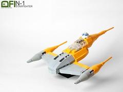 N-1 Starfighter (Dead Frog inc.) Tags: star 1 lego n wars episode naboo starfighter i