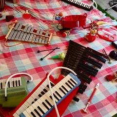 toy orchestra (troutfactory) Tags: japan digital event kobe  instruments kansai   toyorchestra  ipod5 sanmyaku spaceeauuu