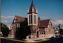 Presbyterian Church, Modern Color Photo