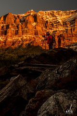 Grand Canyon Lighting (anoopbrar) Tags: trees sunset panorama dog lake canada mountains reflection water sunrise landscape photography photographer turquoise scenic surreal alberta valley banff colourful peaks moraine banffnationalpark morainelake valleyofthetenpeaks tenpeaks anoopbrar
