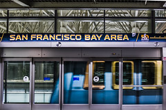 airtrain welcomes superbowl 50 visiters (pbo31) Tags: california winter color public night dark airport nikon sfo january terminal airtrain motionblur transit bayarea superbowl 50 sanbruno sanmateocounty 2016 sanfranciscointernational boury pbo31 d810