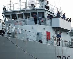 HMCS KINGSTON (Roger Litwiller -Author/Artist) Tags: kingston roger hmcs rcn litwiller mcdv700