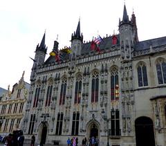 P1030163-Bruges, Stadhuis,Belgium (CBourne007) Tags: city architecture buildings europe belgium bruges veniceofthenorth