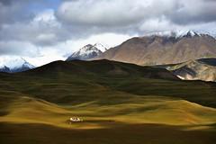 (Great Han) Tags: autumn mountains september       qinghai qilian   snowmountains   kekeli haibei
