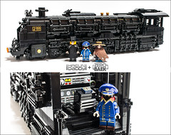 galaxy_express_999 (zerobaek0100) Tags: brick train painting daddy lego galaxy figure animation express choi create creator custom zero 999 charactor minifigure mifi haeun dambaek zerobaek