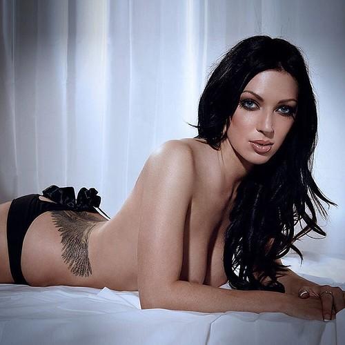 Sexy tattoo female photoshoot