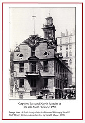 East and North Facades of the Old State House c. 1906 (State Library of Massachusetts) Tags: oldstatehouse bostonmassachusetts massachusettsstatehouse massachusettslegislature