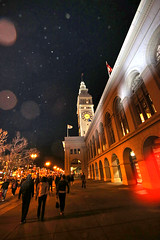 The Ferry Building -Outside Super Bowl City (evie22) Tags: sanfrancisco party sports canon fun football nfl celebration superbowl americanfootball 2016 sb50 canon7dmarkii superbowlcity superbowl50 superbowlfifty
